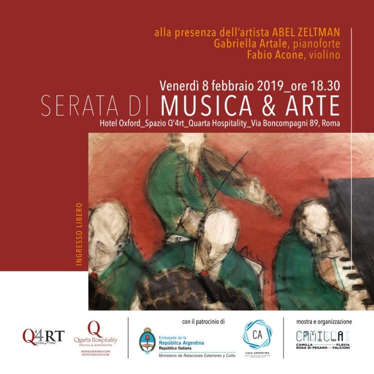 """Serata di Musica e Arte """"Todavìa Cantamos"""""""